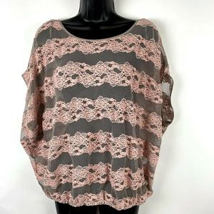 Free People S Top Country Fair Sheer Lace boho